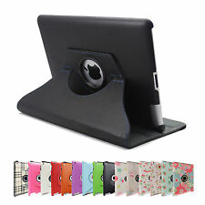 360 Rotating Leather Smart Cover Case for Apple iPad mini 4 3 2 1