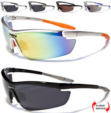 X-Loop men women semi-rimless sport cycling running skiing wrap sunglasses UV400