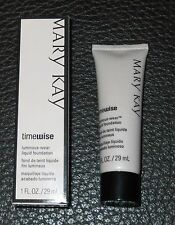 Mary Kay TimeWise Luminous-Wear Liquid Foundation (NIB) *Select Your Shade*