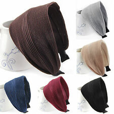 Wide Fabric Hairband Series 30 beautifully hair band Vintage Hair Accessory
