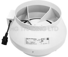 "Systemair Sileo 10 Inch RVK Fan Ducting 10"" 250mm A1 Extractor *FREE 24HR SHIP*"