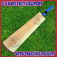 Senior Custom Plain Hand Made English Willow Cricket Bat Knocked & Oiled vv1