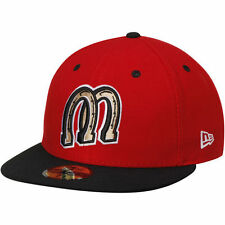 New Era Billings Mustangs Red/Black Authentic Home 59FIFTY Fitted Hat