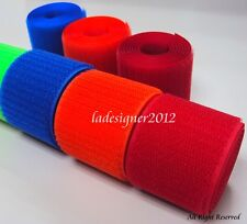 """LOVETEX Brand  2""""(50mm) Sew on Hook and Unnapped Loop fastener tape"""