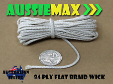84 Ply 100% Natural Cotton Candle Wick Various Lengths