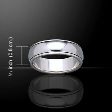 Wedding Spinner .925 Sterling Silver Band Ring By Peter Stone
