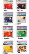 50Bags Magic Jelly Crystal Mud Soil Water Beads for Flower Garden Planting Decor