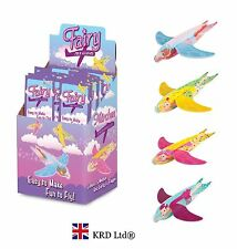 Fairy Flying Glider Planes Birthday Party Bag Favors Fillers Loot Toy Pack Toys