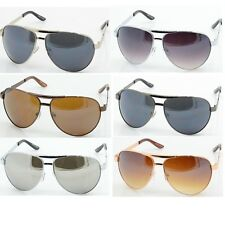 Men Women Fashion Designer Metal Frame Aviator Shades Sunglasses 3022