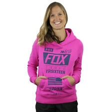 Fox Racing NEW Mx Ladies Union Fuschia Motocross Winter Womens Pullover Hoodie