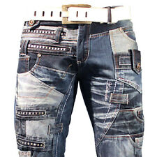 K&M KOSMO LUPO TURIN MENS JEANS DENIM  ALL SIZES