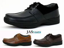 Mens JAS Casual Shoes Lace Up School Work Office Wedding Size UK 6 7 8 9 10 11