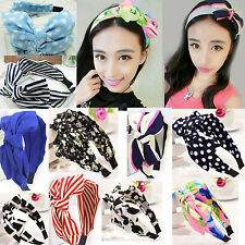 2016 brand new!2 pcs Bowknot Ribbon Hair Accessory Bow Headband 17 styles