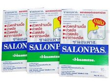 Salonpas Pain Relieving Patches Topical Arthritis Muscle Lower Back Lot Exp 2018