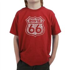 Boy's T-shirt - Route 66 - Get Your Kicks