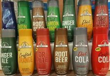 SODASTREAM CONCENTRATED FLAVORED SODA MIX SYRUP ~ MANY FLAVOR CHOICES PICK ONE