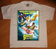 Spongebob Sponge Out of Water Movie Personalized T-Shirt - NEW
