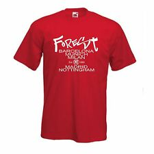 Nottingham Forest Football Capitals of Europe T Shirt