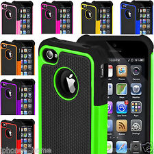 Heavy Duty Tough Armor Dual Layer Case Cover For iPhone SE 5/5s 6/6s & 6/6s Plus