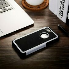 Heavy Duty Tough Armor Dual Layer White Case For iPhone 5/5s/SE 6/6s & 6/6s Plus
