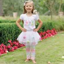 Mud Pie Easter Baby Bunny Skirt Set