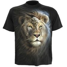 Spiral Majestic T-Shirt Black [Special Order] - Gothic,Goth,Mystical Lion  ,Men'