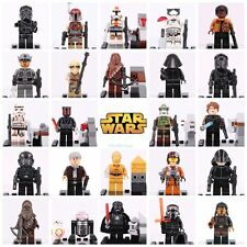 ALL IN ONE SET DEADPOOL & STAR WARS MINIFIGURES SUPER HERO FITS LEGO