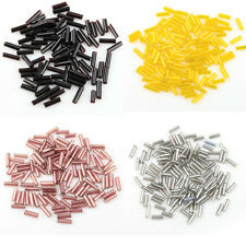 1000pcs Tube Czech Glass Spacer Beads 8x2mm For Jewelry Making DIY Wholesale