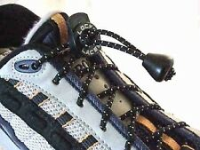 Lock Laces - Elastic Shoe Laces in Black, Green, Grey, Orange, Pink, Red, White
