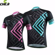 CHEJI Men Women MTB Shirt Cycling Jersey Top Mountain Bike Jersey Cycling Jacket