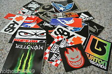 5 Surf Skate Surfboard Stickers Decals Snowboard Vans Fox DVs wheels trucks wax