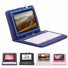 "iRULU 7"" Quad Core 16GB Tablet PC Google Android 4.4 WIFi HD Touch Pad+ Keyboard"