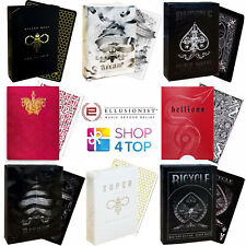ELLUSIONIST BICYCLE PLAYING CARDS MAGIC TRICKS DECK POKER SIZE SEALED NEW