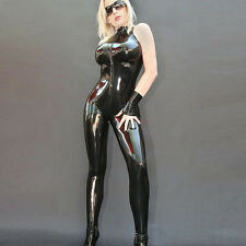 Faux Leather Catsuit Erotic Adult Women Sexy Costumes Gothic Clubwear Lingerie