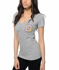 Odd Future OFWGKTA DONUT Girls Junior V-Neck T-Shirt NWT 100% Authentic