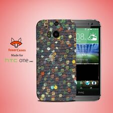 Roof Tiles Pattern Case Cover for HTC