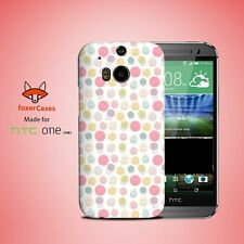 Cupcake Happiness Pattern Case Cover for HTC