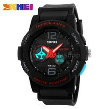 Men Women Digital LED Waterproof Quartz Stopwatch Alarm Sports Wrist Watch B2B2