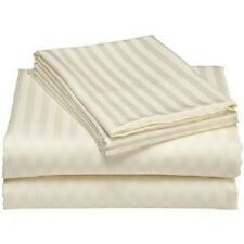 Royal Collection Super Soft & Wrinkle-Free Microfiber Sateen Stripes Sheet Set