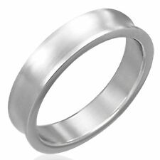 Ring Made of Stainless Steel classic plain Stainless steel Ring Unisex