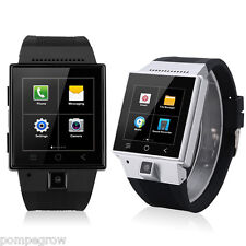 Android 4.4 MTK6572 Dual Core 3G Smart Phone Watch SIM 2MP Camera Email WIFI 4GB