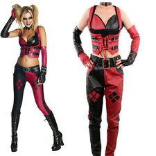 New Secret Wishes Batman Arkham City Harley Quinn Costume Sexy Halloween Cosplay