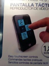 Coby 8 GB 1.8-Inch Video MP3 Player with FM Radio MP8208G Black Touch Screen-OG