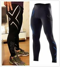 New Mens SPORTS 2XU Elite Compression Fitness Running GYM Tights pants