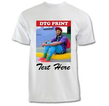 Custom Printed T-Shirts Photo Logo Text Image Printing - Personalized All Sizes