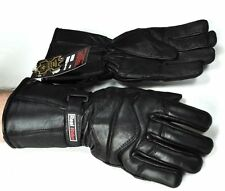 New Genuine Leather Thinsulate Motorcycle Gloves  FREE SHIP