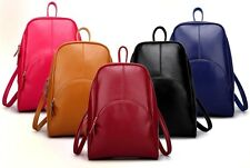 New Fashion Genuine Cowhide Leather Backpack Travel Casual Unisex School Bag