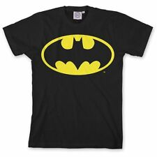 DC Comics BATMAN Classic Logo GLOW IN THE DARK T-Shirt NWT Licensed & Authentic