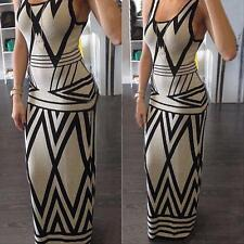 Fashion Women Ladies Summer Casual Long Maxi Evening Party Cocktail Beach Dress