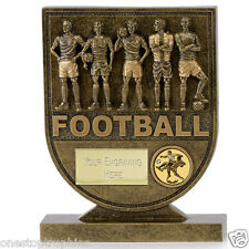 Team Shield Football Trophy in 3 Sizes Free Engraving up to 30 Letters